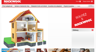 microsite concept for Rockwool, Inc.