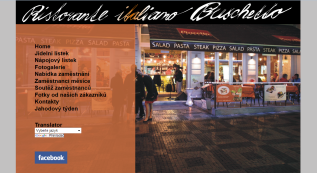 web for Ristorante italiano Buchetto