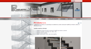 web for PKindustry, Ltd.